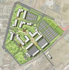 3 Bluegrass Community And Technical College This Campus Design Is Simple There Are Not Meny Buildings To It T Campus Design Site Plan Design Parking Design