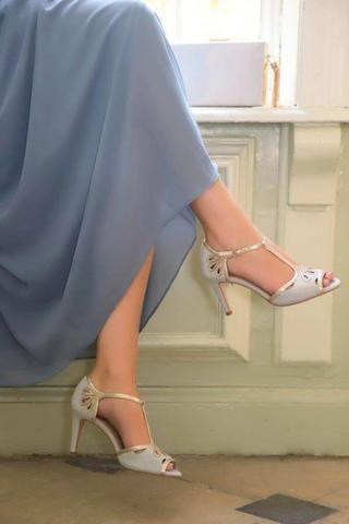 Novia Gris Color Zapatos Esme Perlado De 2019Sandalias En 3j4RAqLc5