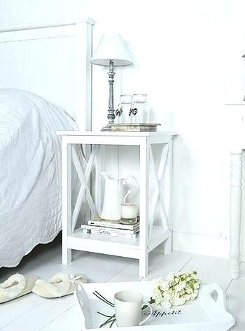 Bedroom Night Tables Best White Bedside Ideas On Stands In ...