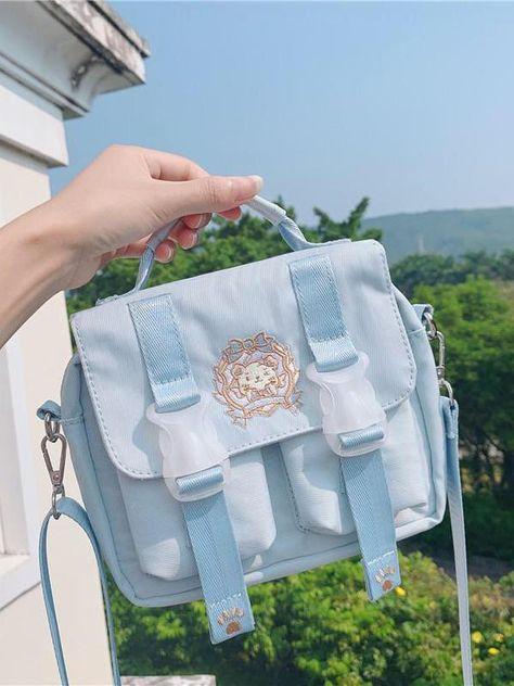 Cute Purses, Purses And Bags, Kawaii Bags, Accesorios Casual, Diy Handbag, Boho Bags, Purple Bags, Everyday Items, Girls Bags