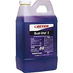 Betco Quat Stat 5 Disinfectant Concentrate Liquid 0 53 Gal