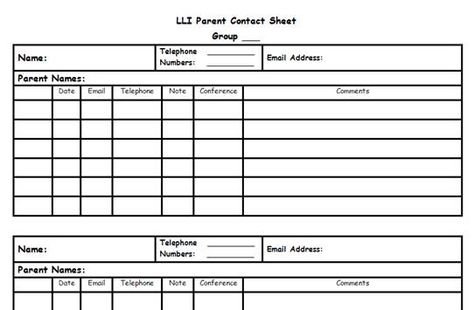 Leveled Literacy Intervention ideas and forms for RIMS LLI - conference sign in sheet template