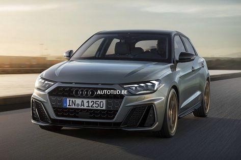 Der Brandneue 2019 Audi A1 In Chronos Grau Python Gelb