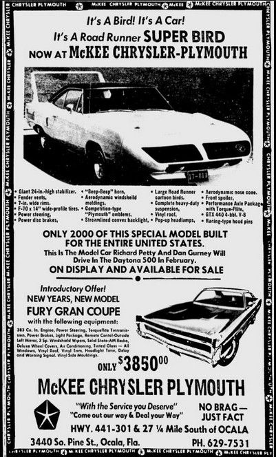 Chrysler-Plymouth Ad | Blast from the Past | Muscle cars
