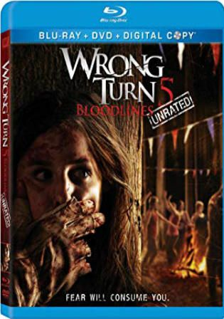 Wrong Turn 5 Bloodlines 2012 Brrip 300mb Unrated English 480p Free Download Wrong Turn Bloodline Film Story
