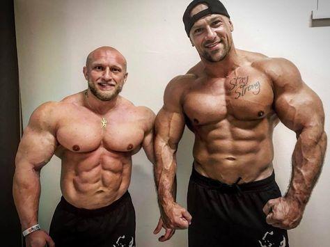 Vojta Koritensky and Vlastimil Kuzel Muscle men Bodybuilding Muscle