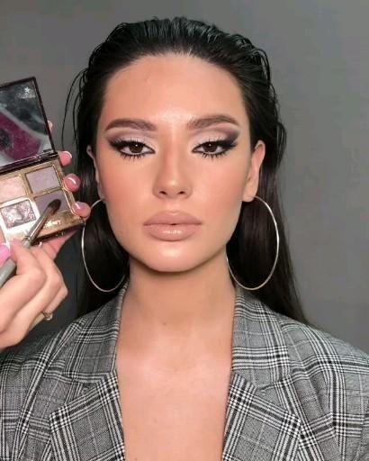 Most Amazing Girlish Makeup In 2020 Black Smokey Eye Makeup Wedding Eye Makeup Makeup Eye Looks