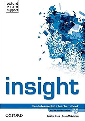 Pdf Cdrom Oxford Insight Pre Intermediate Teacher S Book With Teacher S Resource Disk Teacher Books Teacher Resources Teacher