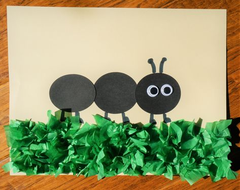 Ant Craft for preschoolers