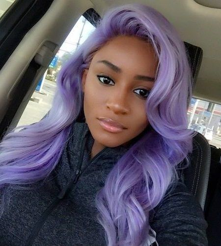 Purple Ombre Hair Color Ideas For Black Ladies In 2019 The Following Hair Color Plan Is For Anyone Hair Color For Dark Skin Cool Hair Color Cool Hairstyles