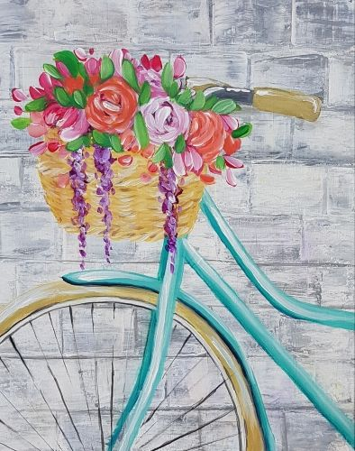 Hey Check Out Bicycle Blossoms At The Cajun Seafood House