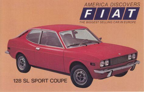Fiat 128 Sl Sport Coupe Usa 7510 3 1973 Con Imagenes