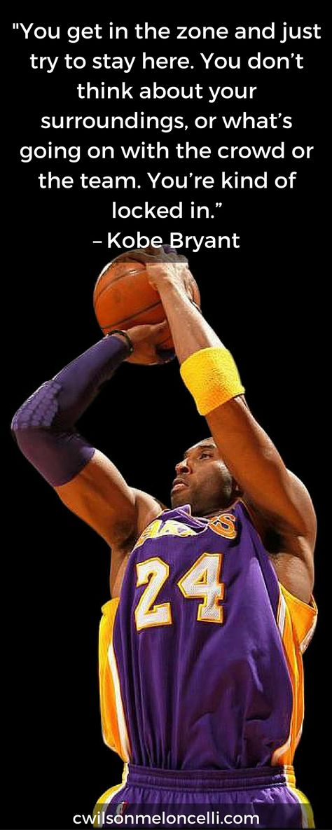 A quote by Kobe Bryant about Meditation for Basketball Athletes. Read the benefits of meditation here http://www.cwilsonmeloncelli.com/4-major-reasons-why-all-basketball-players-should-practice-meditation-for-basketball-athletes/