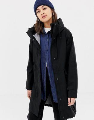 buy online 5b1b2 64ab2 Didriksons Hilja parka in black in 2019 | Want | Parka ...