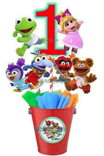 Muppet Babies Centerpiece Pail | Muppets Babies Birthday
