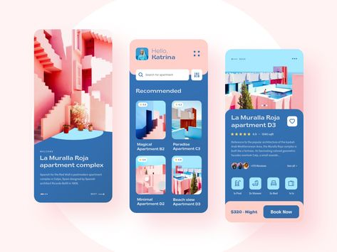 La Muralla Roja - Booking app