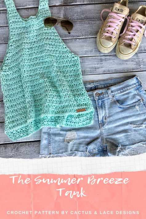 made easy, with this beginner friendly free crochet pattern! Bag Crochet, Mode Crochet, Crochet Shirt, Crochet Woman, Crochet Vests, Crochet Tank Tops, Crochet Summer Tops, Crochet Womens Tops, Crochet Blanket Patterns