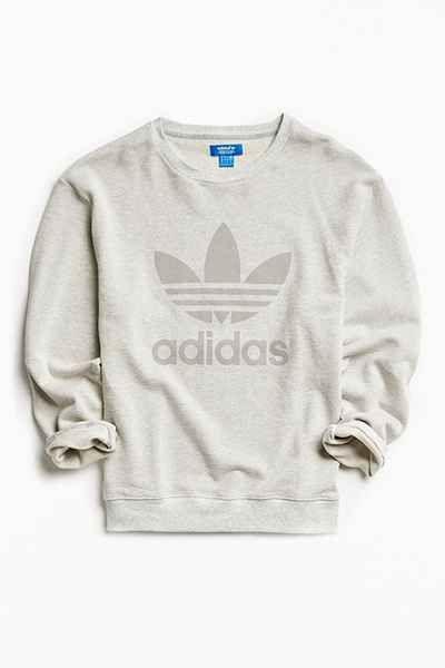 adidas Trefoil Sweatshirt Ice Yellow FK0480 | Chicago City