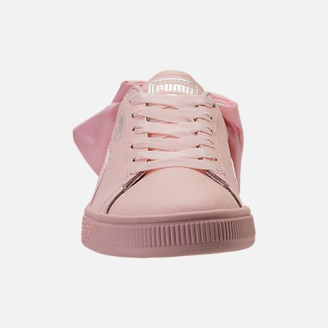 usa cheap sale bright in luster great look Women's Puma Basket Bow Casual Shoes in 2019 | Kicks Don't ...