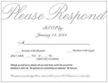 New Wedding Invitations Wording No Children Cards Ideas Rsvp Wedding Cards Rsvp Wedding Cards Wording Wedding Response Cards
