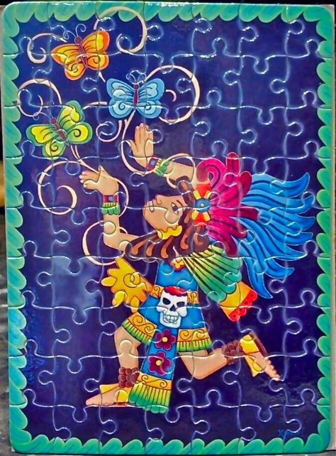 Aztec Puzzles, only $10! Original artwork by Veronica ...