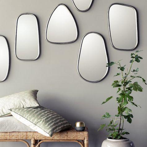 Miroir Asymetrique En 2019 Miroir Deco Décoration