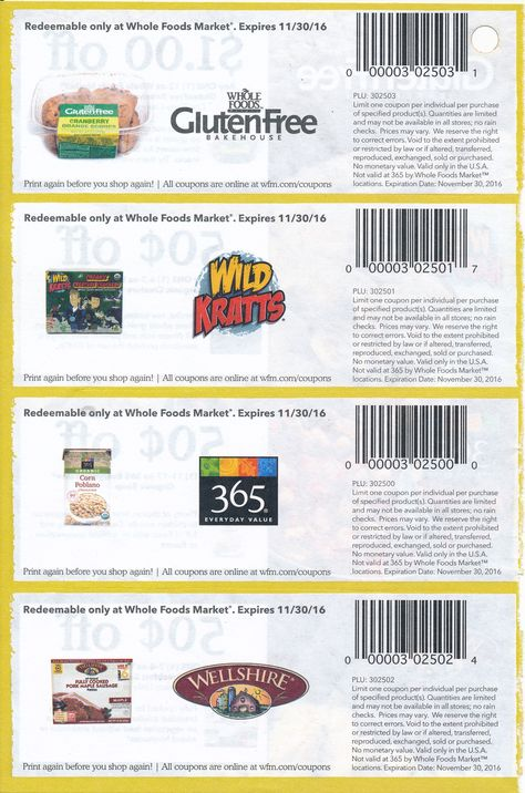 Pin By 31events Com On Email Calendar Coupons Whole Foods Market