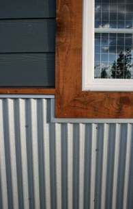 Standing Seam Roofing And Siding On Farmhouse Metal Siding Options Siding Options Metal Siding Cost
