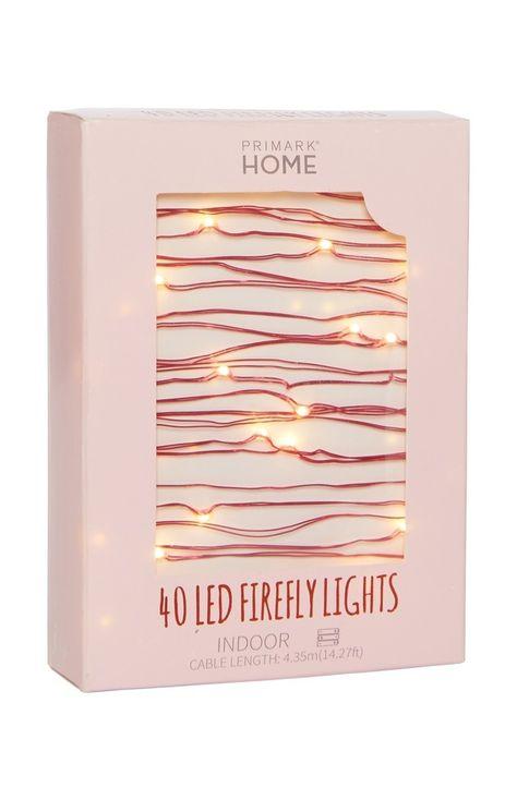 40 LED Firefly Lights  £2.50 in Primark