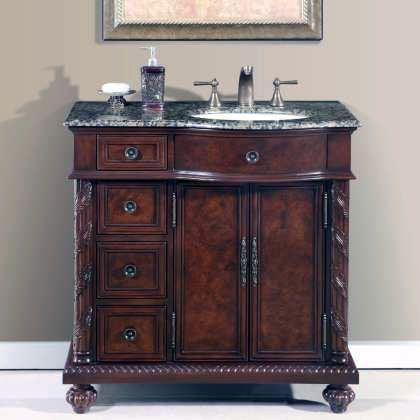 Design Tips To Create A Small Restroom Much Better Stone Bathroom Sink Single Sink Bathroom Vanity Bathroom Vanity
