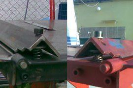 Diy Sheet Metal Bender Brake Metal Bender Sheet Metal Bender Sheet Metal