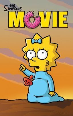 The Simpsons Movie Poster Id 673106 The Simpsons The Simpsons Movie Simpson