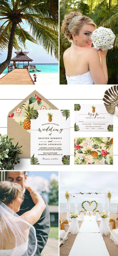 luau wedding invitation templates%0A     best Summer Wedding Invitations images on Pinterest   Summer wedding  invitations  Summer weddings and Luau wedding