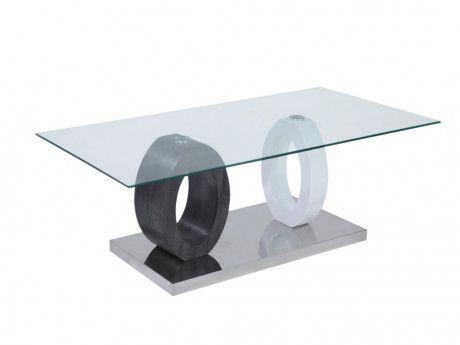 Couchtisch Glas Oval Beistelltisch Design Schwarz Couchtisch
