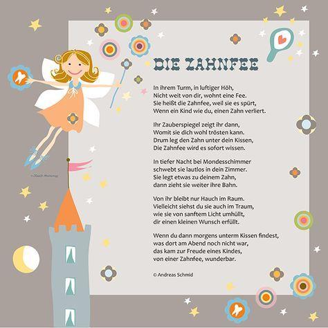Gedicht Von Der Zahnfee Zahnfee Zahnfee Brief Zahnfee Geschenke