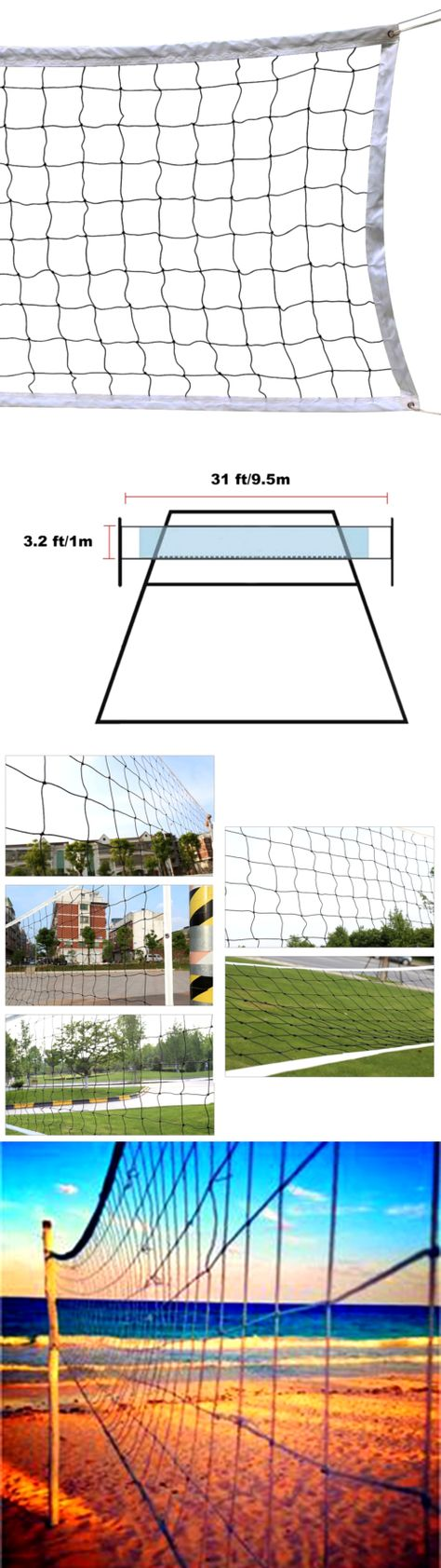 nets 159131 volleyball mesh net backyard beach outdoor