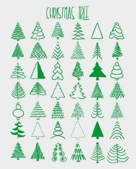 62 Trendy Christmas Tree Drawing Artists Artists Christmas Drawing Tree Trendy In 2020 Christmas Cards Handmade Christmas Drawing Christmas Doodles
