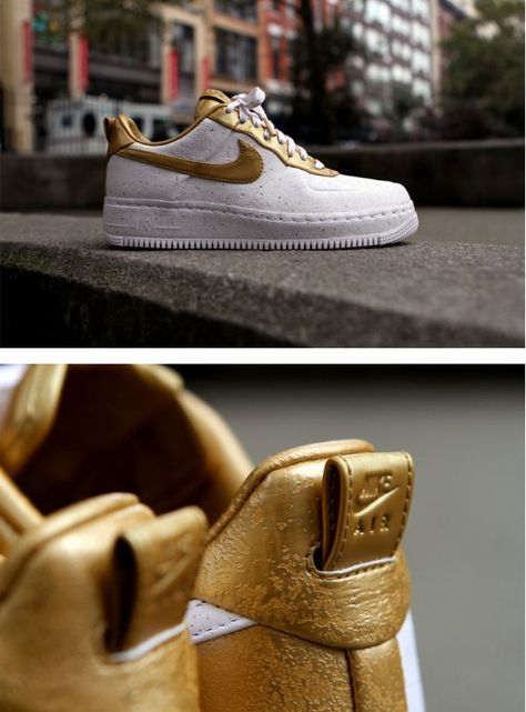 "uk availability 292da 58447 Nike Air Force One Low Supreme ""Gold Medal"""