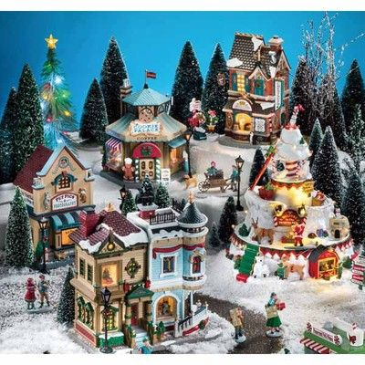 Christmas Village Collections.All Lemax Christmas Village Collection Christmas Lemax