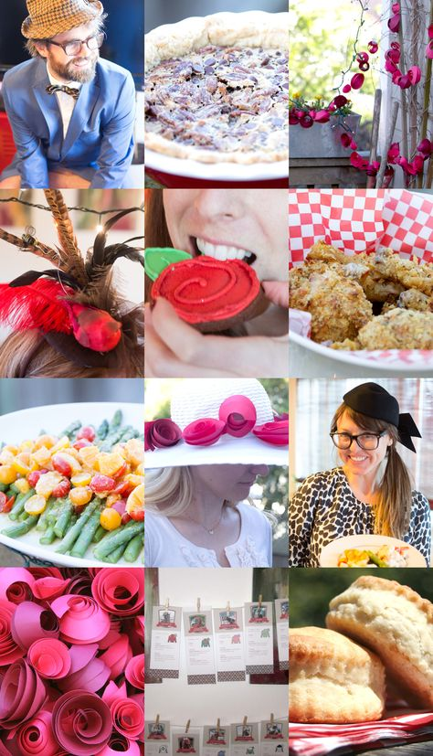 Kentucky Derby Party Ideas and Menu
