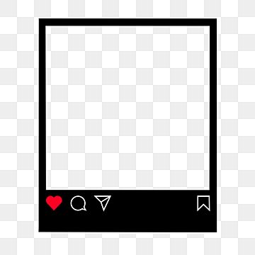 Dark Mood Instagram Post Frame Viral Photo Editing Png Instagram Frame Border Png And Vector With Transparent Background For Free Download Instagram Frame Template Instagram Frame Frame Logo