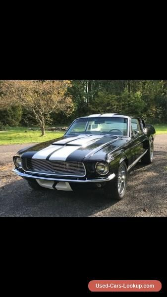 Car For Sale 1967 Ford Mustang