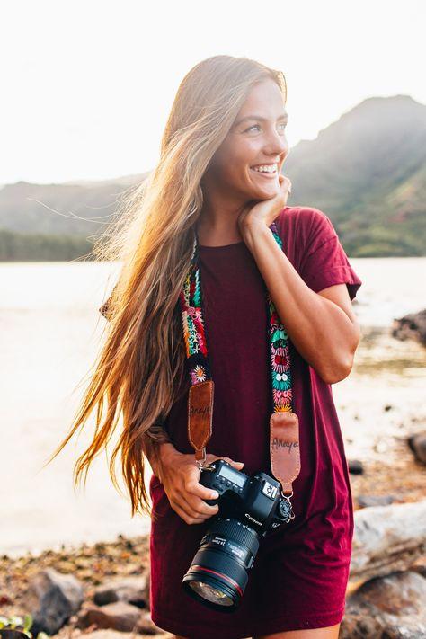 Leather Camera Strap, Camera Straps, Best Camera Strap, Girls With Cameras, Camera Gear, Female Photographers, Custom Bags, Camera Accessories, Fashion Handbags