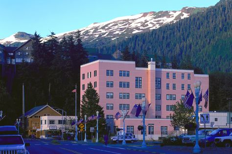 """Federal Building: In the 1950's, the movie """"Cry Vengeance"""" was filmed in the Ketchikan Federal Building and the original layout of the first floor lobby can be seen in some of the scenes."""