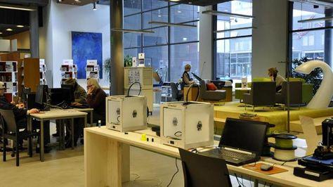 Sellon Paja / Makerspace in Sello Library