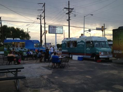 Food truck news: preview of Fly-By Food Park in Dallas | Food park, Food truck, Food