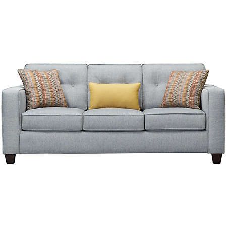 Simmons Upholstery Diver Queen Sofa Sleeper 2049 04QE DIVER LAVA