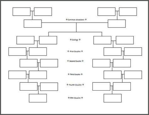 Free Blank Family Tree Template blank family tree on which - family tree template in word