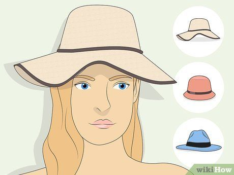 How To Choose Hats For Your Face Shape Face Shapes Rectangle Face Shape Square Face Shape