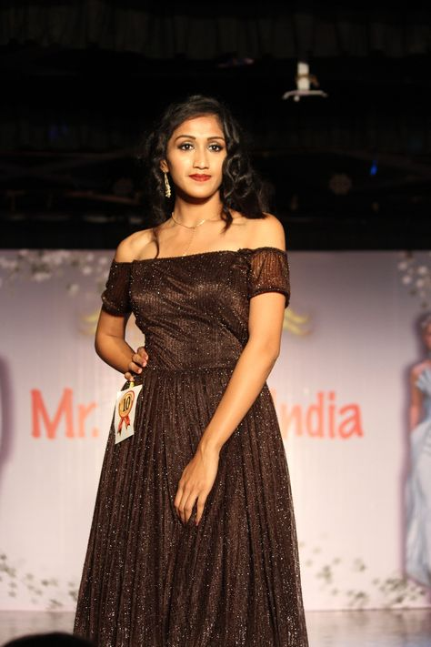 The Mr Miss India 2019 Competition Was Organized In Infant School Of Fashion Mediaconnect Mediaconnectevent Mediacon Miss India Off Shoulder Dress Fashion